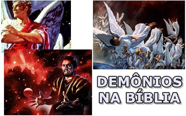 DEMONIOS NA BIBLIA