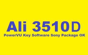 ALI3510D HW104.02.999 New PowerVU Key Software 1-8-2019