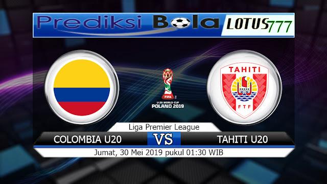 Prediksi Colombia U20 vs Tahiti U20 Jumat 30 Mei 2019