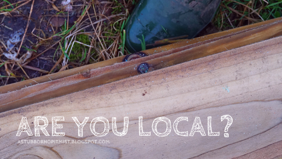 are you local? - astubbornoptimist.blogspot.com - Carrie Gault 2020