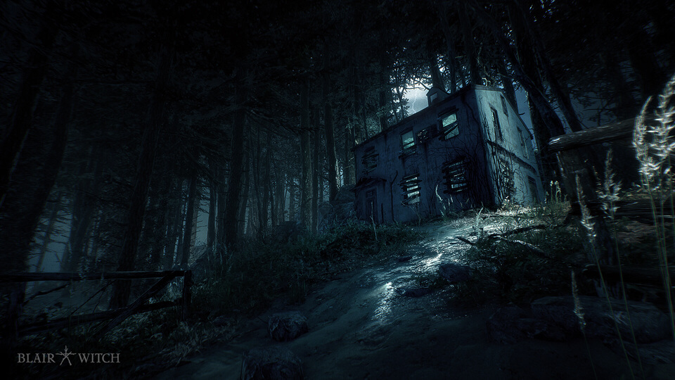 Psychological Horror Game Blair Witch Gameplay Trailer