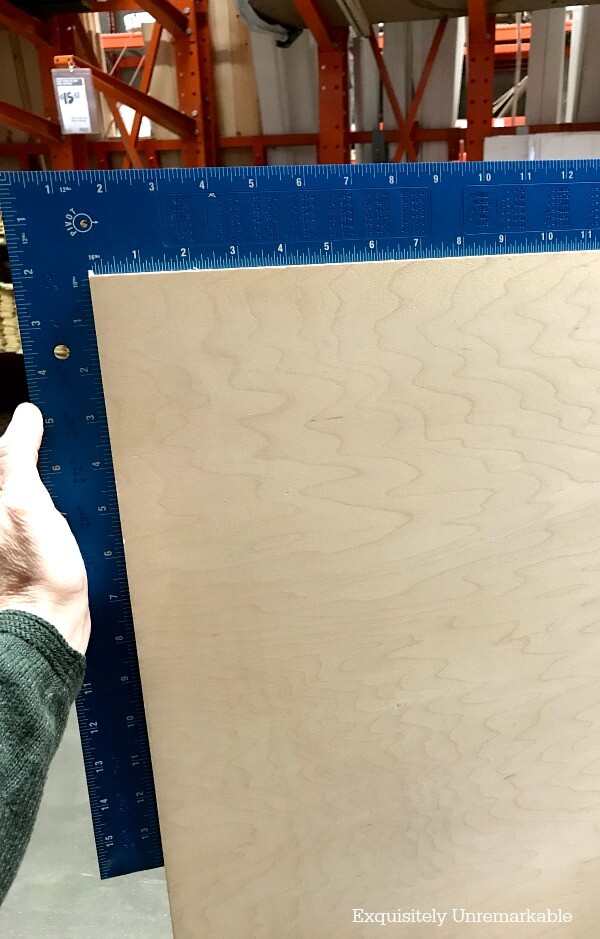 Making Sure Plywood Is Square.jpg