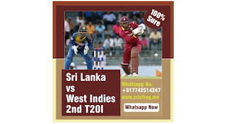Who will win Today International 2nd match SL vs WI T20 2020