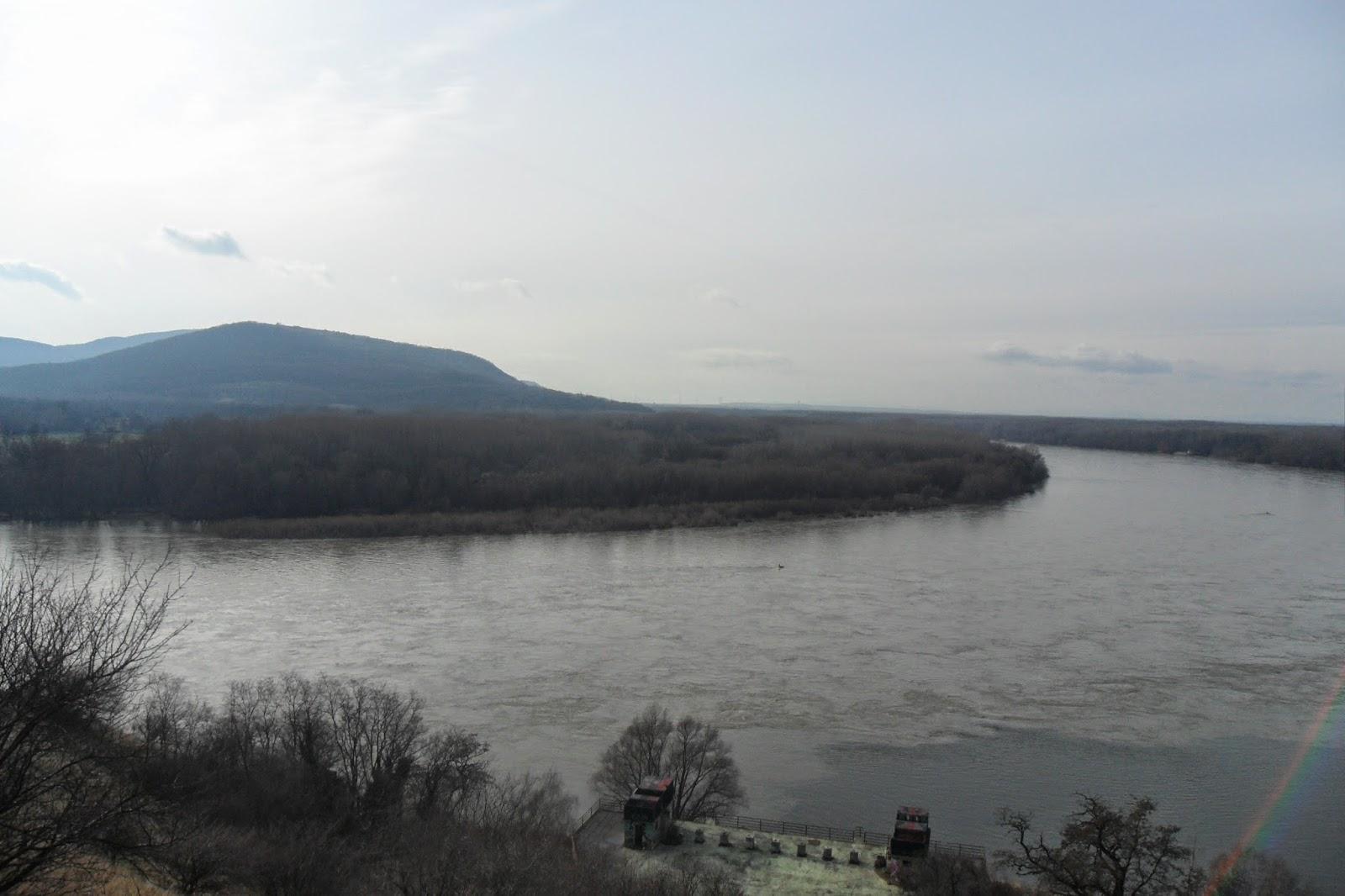 Danube from Devín Castle, Slovakia