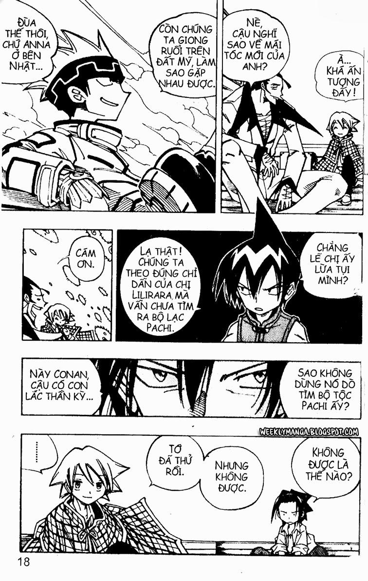 Shaman King [Vua pháp thuật] chap 91 trang 14