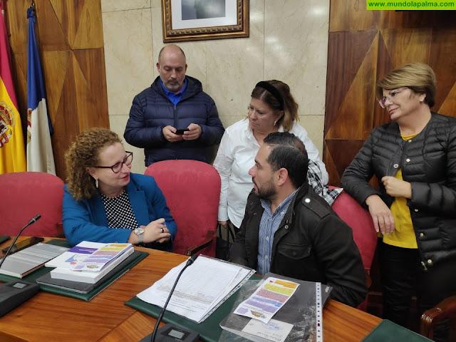 El Cabildo propicia la presentación de la labor de la Asociación Daño Cerebral Adquirido a las administraciones públicas de la isla