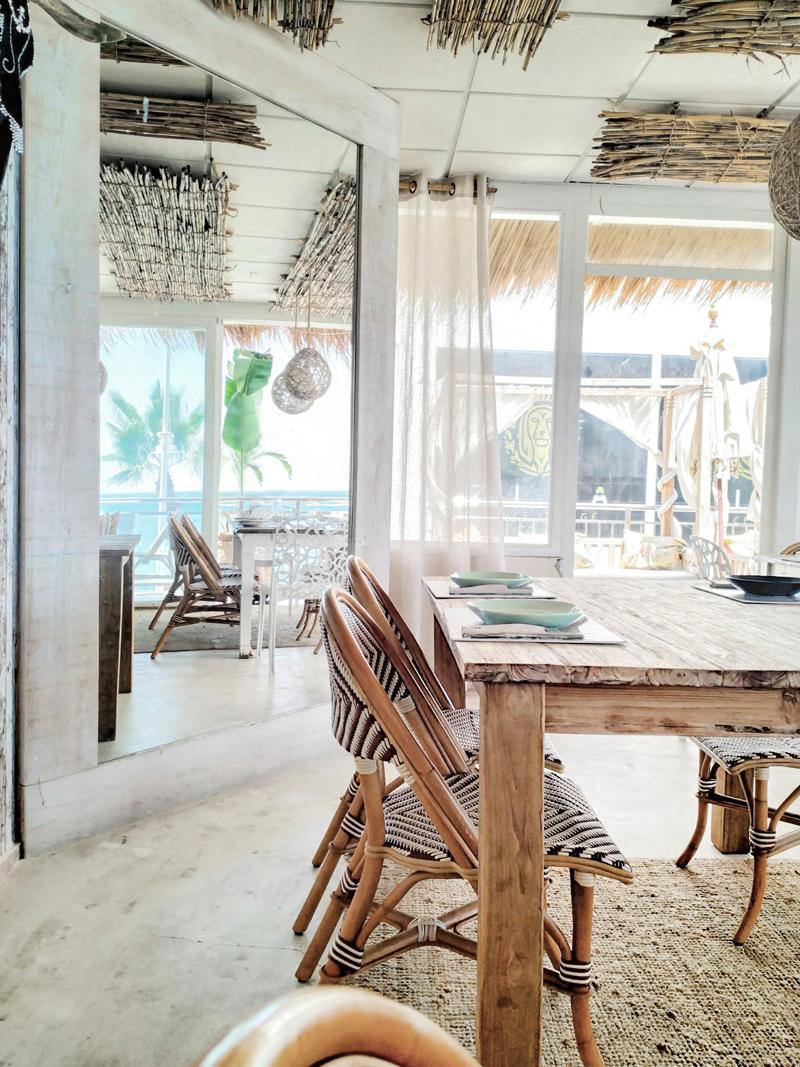 Restaurante GOA (Altea) - Decoración boho de estilo playero