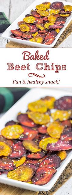 Bäked Beet Chips