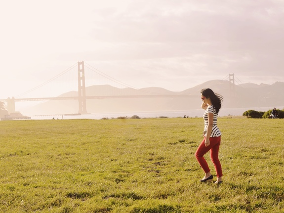 best views of the golden gate bridge crissy field