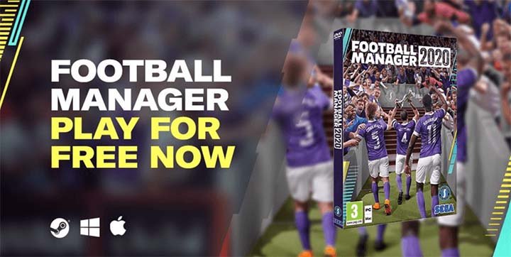 Play Football Manager 2020 For Free