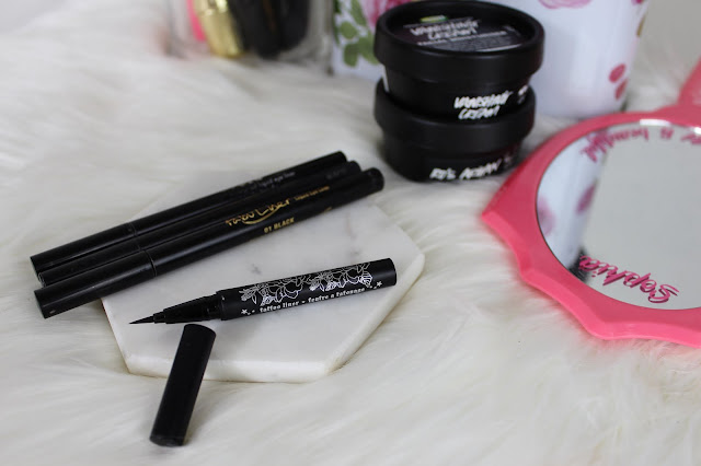 travelling, travel friendly, makeup, beauty, tips, guide, how to, kat von d, tattoo liner