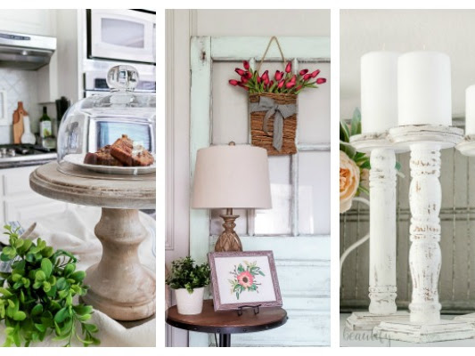 Rustic and Weathered DIY Project Ideas
