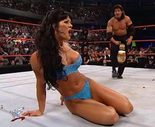 WWF Backlash 2000 - Eddie Guerrero & Chyna