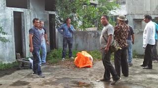 Warga Dihebohkan Dengan Penemuan Mayat Di Pasar Tavip Binjai