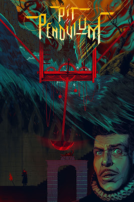 The Pit and the Pendulum Screen Print by Kevin Tong x Mad Duck Posters