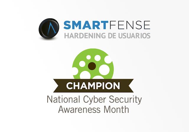 SMARTFENSE se suma oficialmente al Mes Nacional de Concientización sobre Seguridad Cibernética