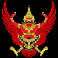 Logo Gambar Lambang Simbol Negara Thailand PNG JPG ukuran 200 px