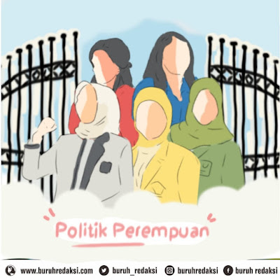 Feminisme, Perempuan Sebagai Calon Di Tahun Politik