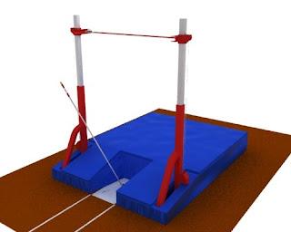 Ukuran Lapangan Lompat Galah