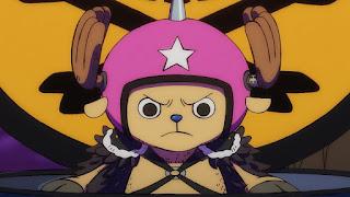 ワンピースアニメ 989話 ワノ国編 | チョッパー かわいい ブラキオタンク5号 | ONE PIECE Tony Tony Chopper