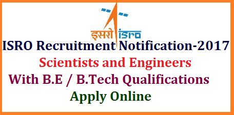 ISRO ICRB Recruitment Notificatoin for Scientist Engineer Posts 80 Vacancies with B.Tech-Apply Online @isac.gov.in Indian Space Research Organisation ISRO and Department of Space Govt of India openings for 80 Scientist and Engineer Posts with B.Tech qualificaitons from all over the India | Online Application form for Scientist and Engineer Posts in ISRO Eligibility Important Dates How to Apply Fee Payments Date of Examination Selection Process through ISRO Centralised Recruitment Board ICRB complete details avalable here | ISRO Recruitment advertisement for 80 Vacancy Posts of Scienist and Engineer with B.E/B.Tech Educational qualifications with 65% of Marks or 6.84 CGPA | You may Download Registration Confirmation Form Print Your Application Form Make Payment Payment Status and Change Written test Centre isro-icrb-recruitment-notification-scientist-engineer-vacancies-eligibility-isac.gov.in-apply-online