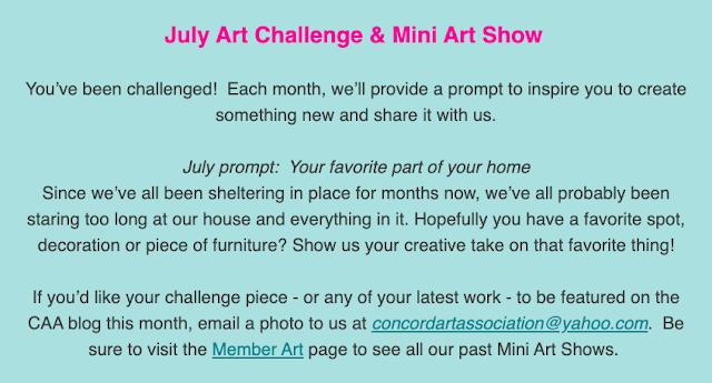 july art challenge