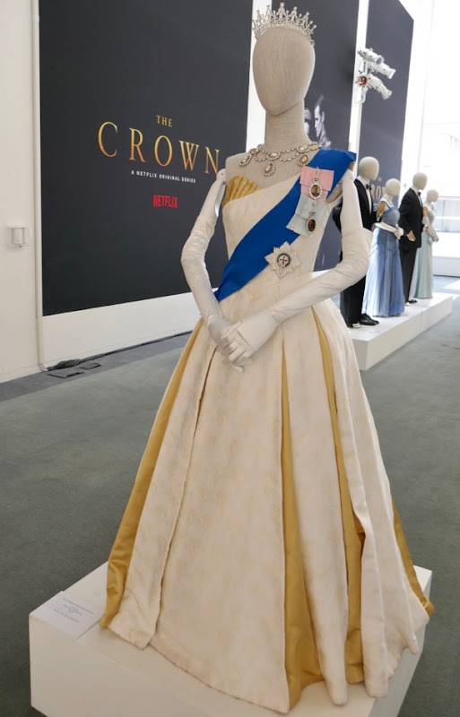 Queen Elizabeth II Ambassador Ball Gown Crown season 2
