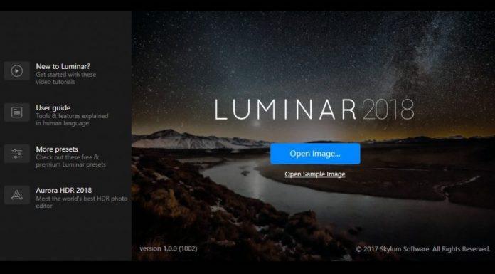 DOWNLOAD LUMINAR 2018 1.1 FULL CRACKED