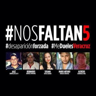 Nuevo detenido por caso de jóvenes desaparecidos en Tierra Blanca #nosfaltan5
