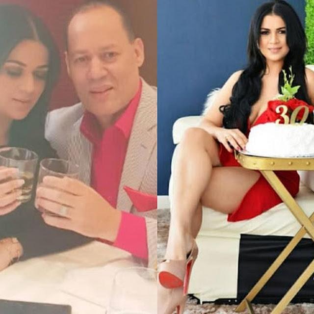Franklin Mirabal presenta en las redes sociales a Penny Báez, su nueva pareja.