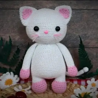 Amigurumi Gatita a Crochet