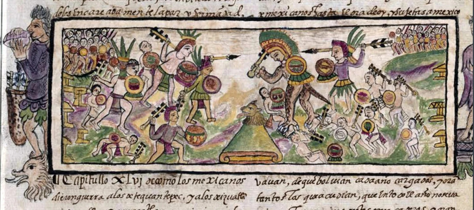 El arma que los antiguos mexicas usaron contra los españoles