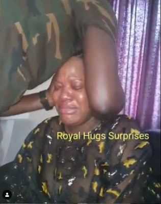 Toyin Abraham Cries As Fans Gifts 1 Million Naira On Her 35th Birthday (VIDEO)