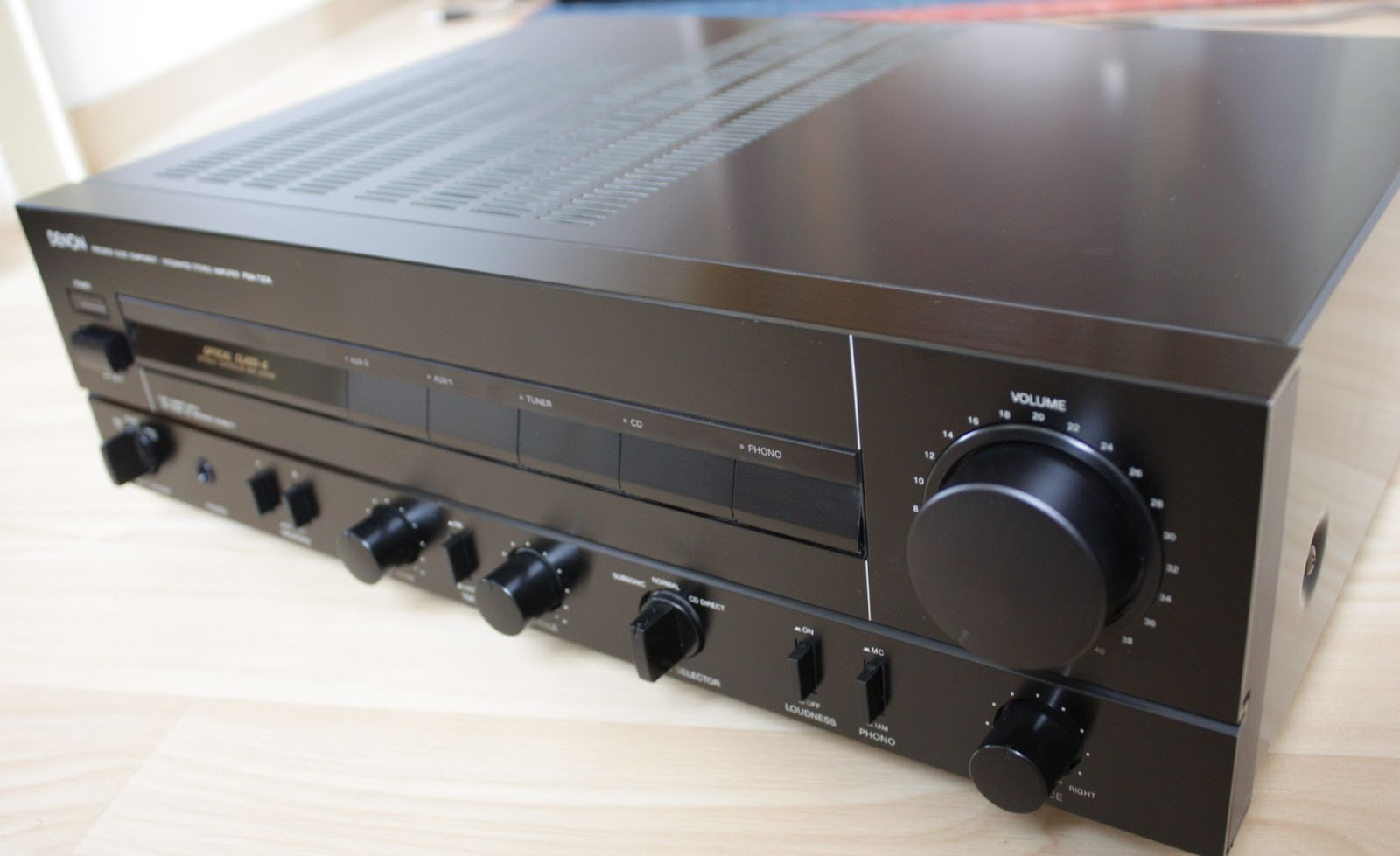 Denon PMA-720 - Integrated Amplifier | AudioBaza