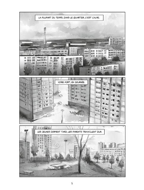 """page de """"LA PART DU GHETTO""""  de Corbeyran et Yann Degruel paru chez Delcourt"""