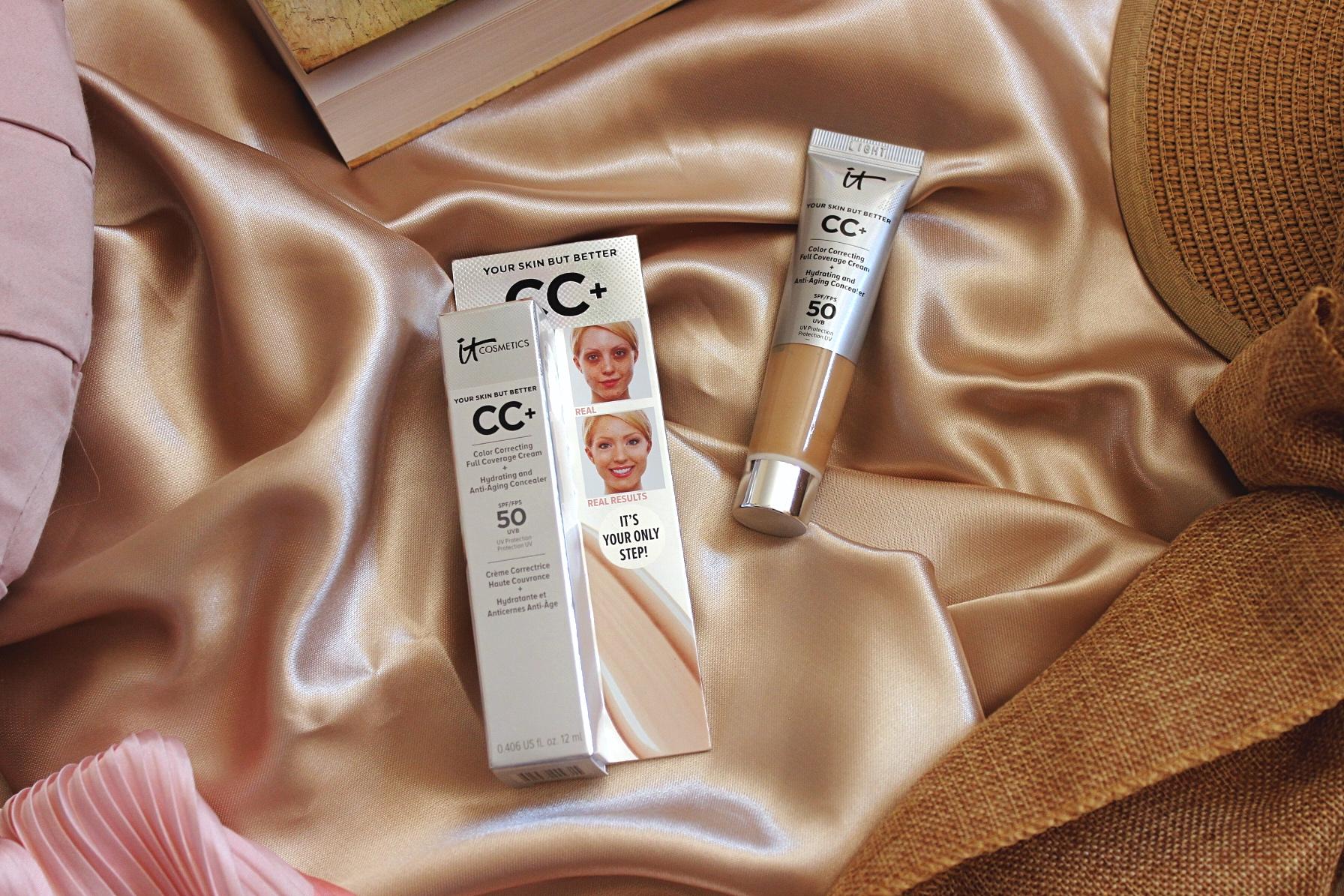 IT Cosmetics CC cream СС крем ревю мнение