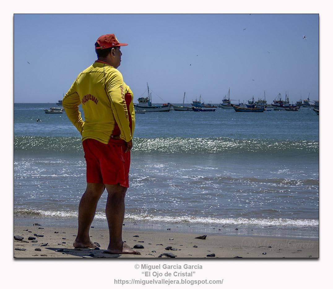 El Vigilante de la Playa.