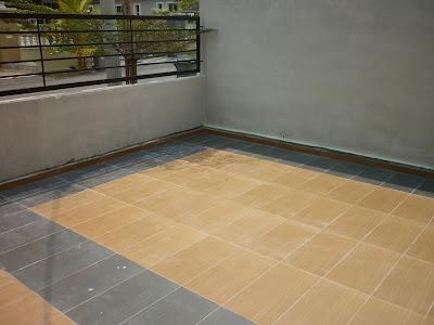 Susun Tile/Jubin di Kuching
