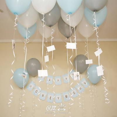 Dekorasi Lamaran dengan balon