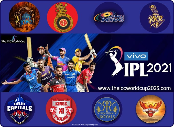 IPL 2021 Teams and Players List, Squads & Complete List of Players