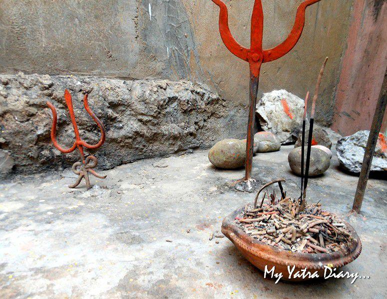 Trishul at ShaktiSthal Jeen Mata Mandir Sikar Rajasthan