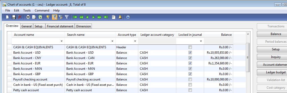 Microsoft Dynamics AX: Currency Setup in Dynamics AX 2009