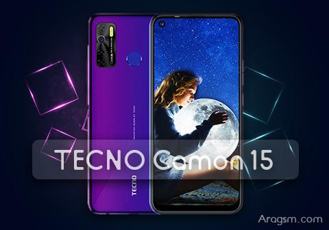 مراجعة مواصفات وسعر الهاتف الجديد TECNO Camon 15