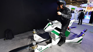 From flying taxis to robocops, Dubai as a tech pioneer