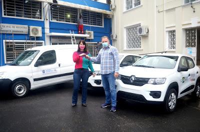 Assistência Social de Registro-SP conta com três novos veículos