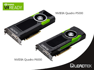 Beyond Maxwell, Leadtek NVIDIA QUADRO P6000 and P5000 Professional Graphics Cards feature High-End Pascal GPU are available now