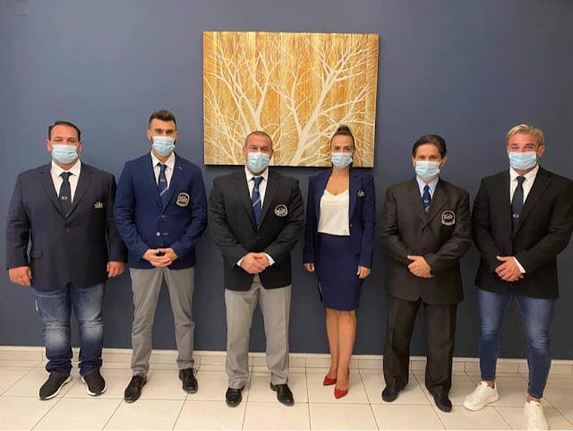 Στο Ναύπλιο συνεδρίασε η Πανελλήνια Ομοσπονδία Σωματικής Διάπλασης - Πρόεδρος ο Τάσος Κολιγκιώνης