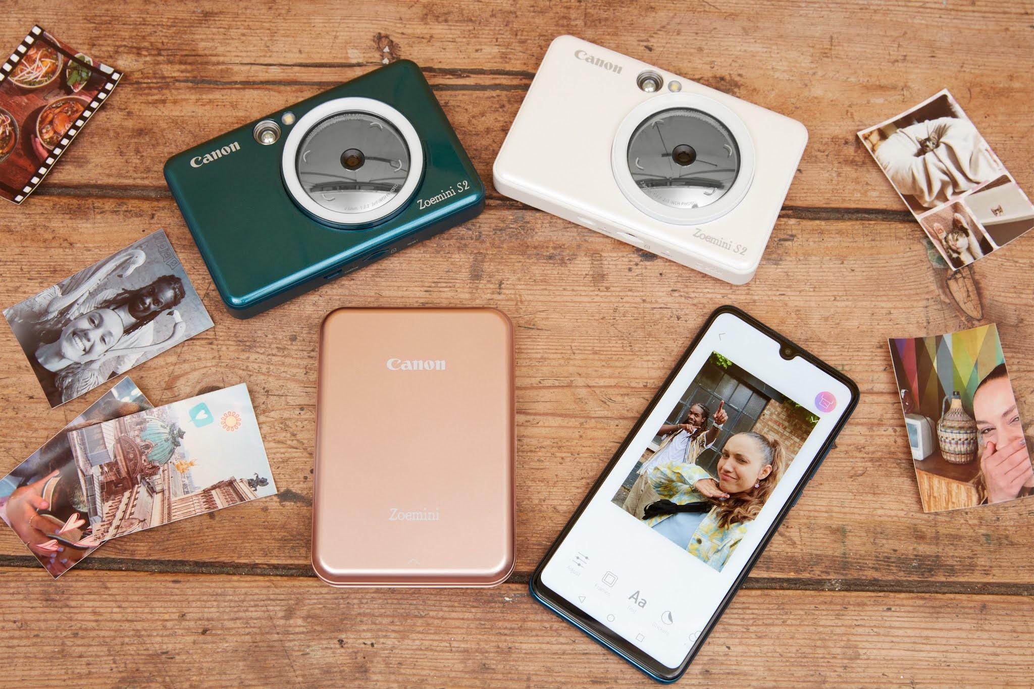 Canon evolves instant camera printer range with new 2-in-1 model - Canon Zoemini S2