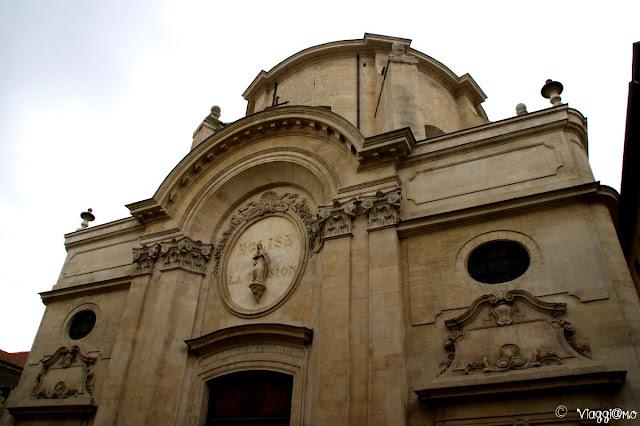 Una delle chiese di Avignone