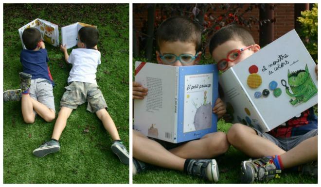 libros infantiles, niños leyendo cuentos, fomento de la lectura